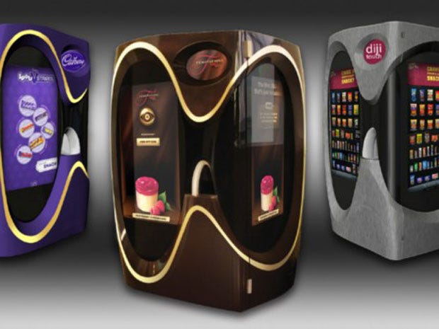 Why The Vending Machine Business Goes High Tech